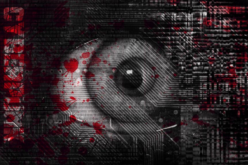Cyberpunkowe oko się na Was patrzy. Czy to oko Kataryniarza: http://sallyvan.deviantart.com/art/Cyberpunk-1-69641321