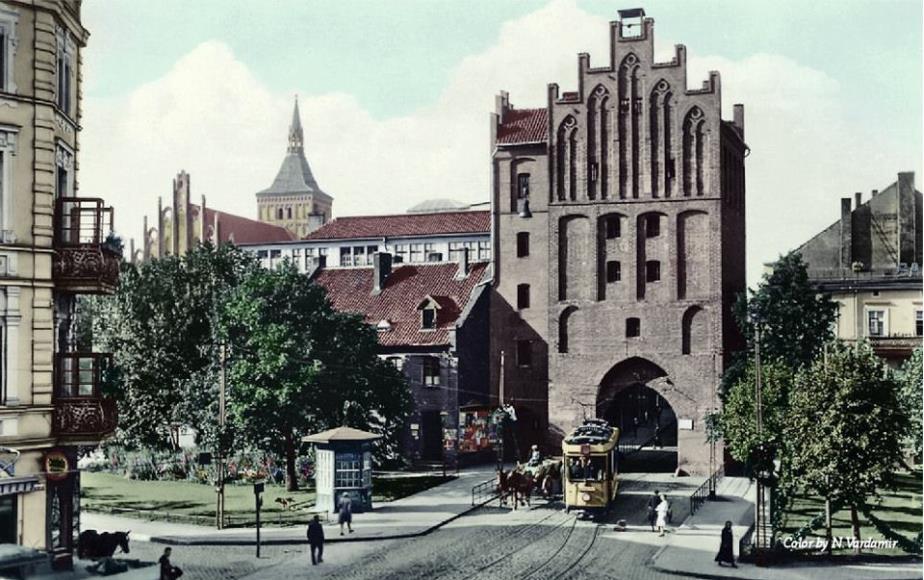 Zdjęcie Olsztyna przed laty. Źródło:http://fro.olsztyn.pl/2013/03/allenstein-olsztyn-archiwalne-zdjecia-olsztyna/