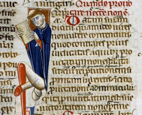 Codex Justinianus, Bolonia 13 wiek. Angers, Bibliothèque municipale, ms. 339, fol. 260v