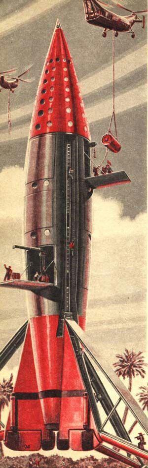 Takie tam rakiety... Źródło: pinterest.com