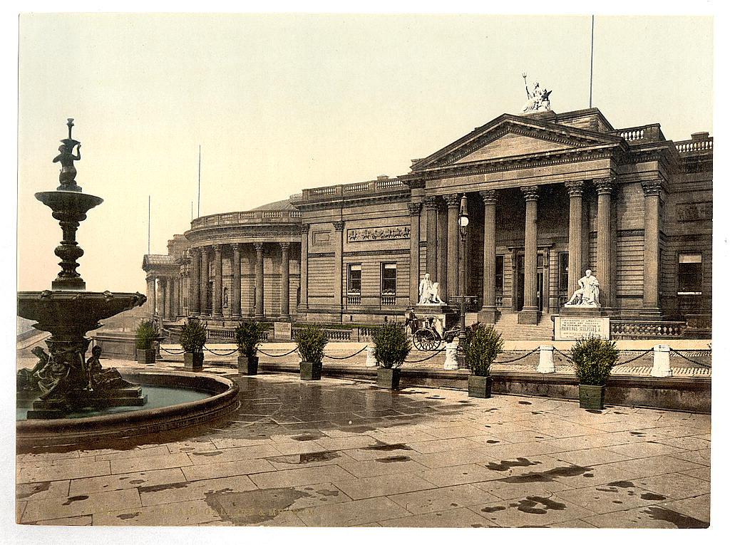 A tutaj budynek Muzeum w Liverpoolu. Źródło: https://flic.kr/p/ei334M