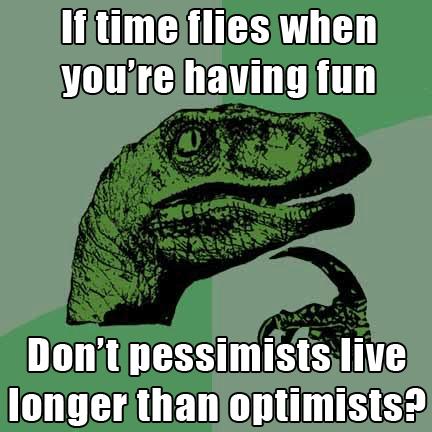 Czy naprawdę warto jednak dłużej żyć będąc pesymistą?