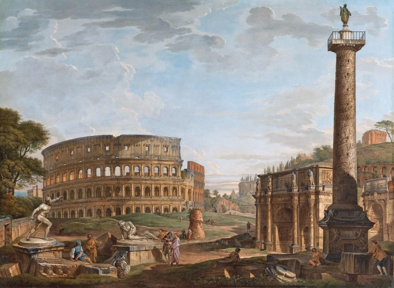Taki widoczek na Rzym. Źródło: https://flic.kr/p/6mq6Xa
