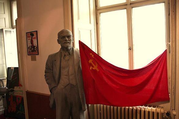 Lenin w muzeum w Pradze. Źródło: https://flic.kr/p/58gZ3W