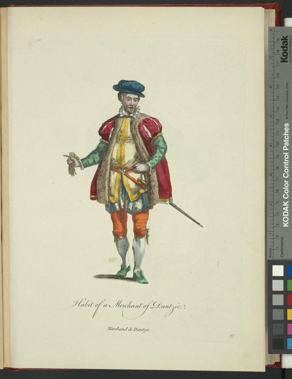 Kupiec Gdański. Źródło: NYPL Digital Collections