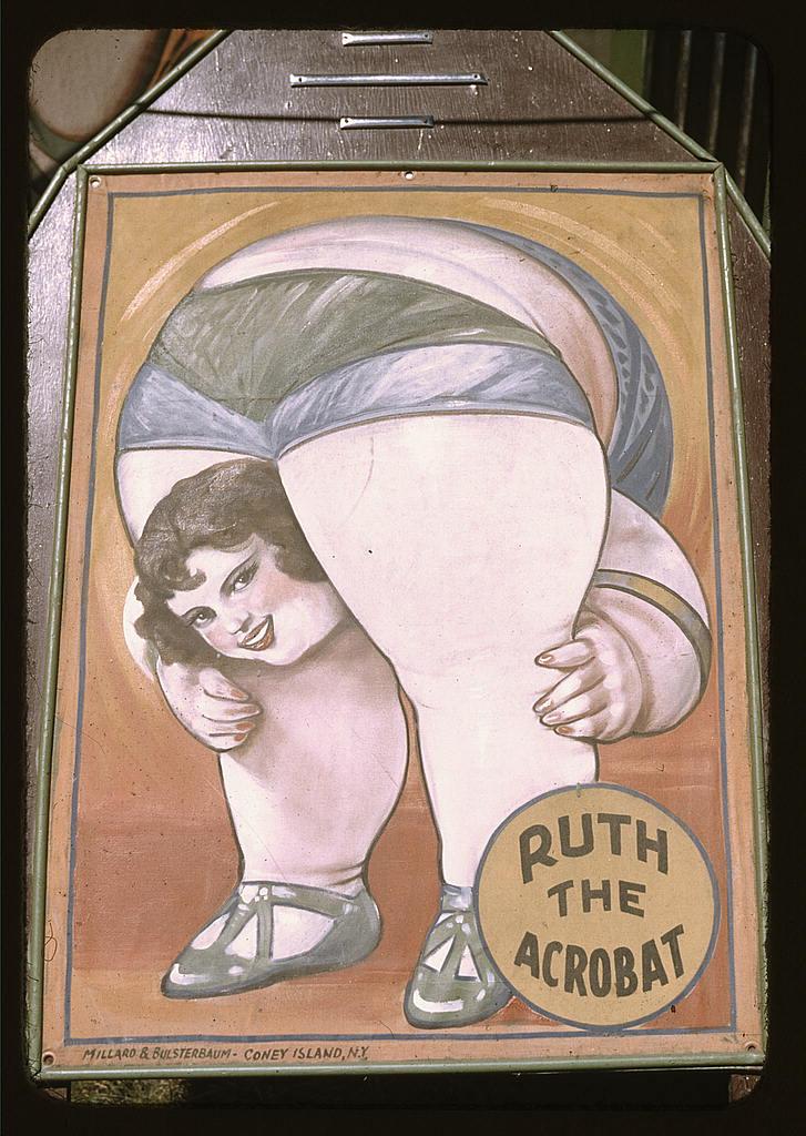 Ruth akrobatka. Ot taka reklama. Źródło: https://flic.kr/p/4jybUG