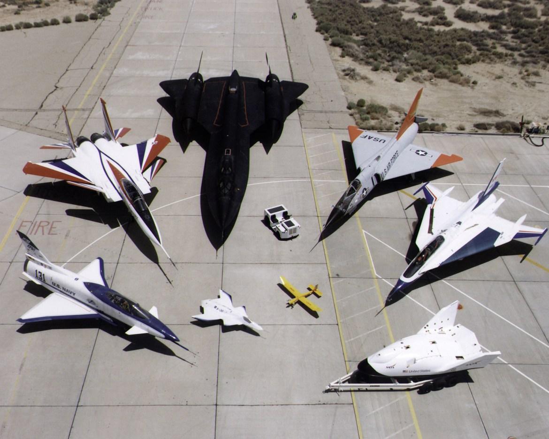"""Flota NASA. Wyglądają jak zabawki nieprawdaż? Źródeło"""" https://www.flickr.com/photos/nasacommons"""