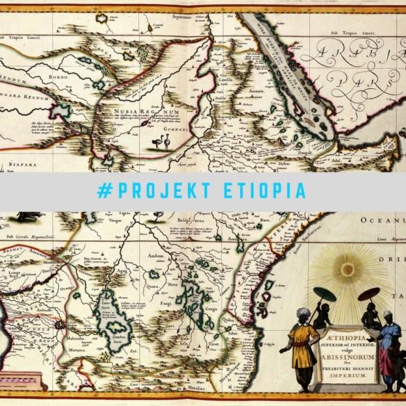 A tu taka graficzka z mapą Etiopii.