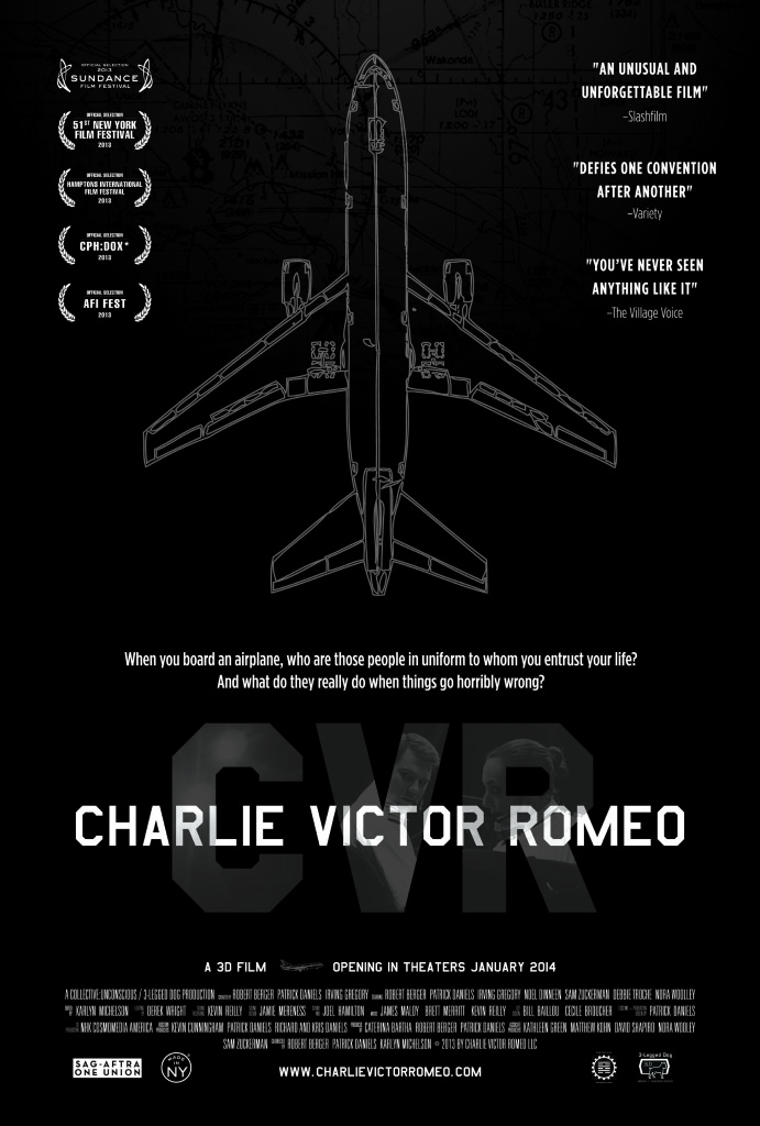 Charlie Victor Romeo Theatrical Poster