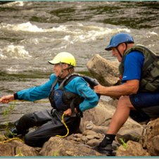 Cheat River Swftwater Rescue Clinic 5