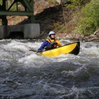 The Mongaup--First Time Solo Canoe!