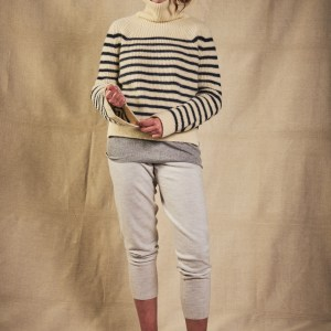 Charl Knitwear nautically striped jumper