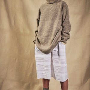 Charl Knitwear Cutty oversized fisherman's jumper