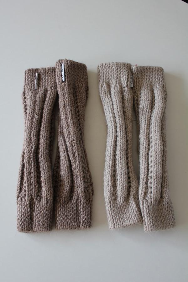 Charl Knitwear legwarmers