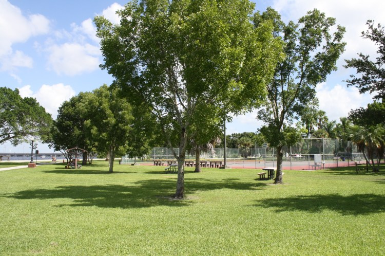Tennis Courts at Gilcrest Park
