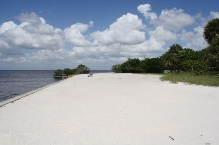 Ponce de Leon park beach area (no swimming)