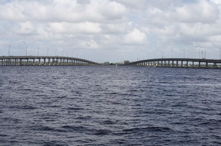 Between US 41 bridges