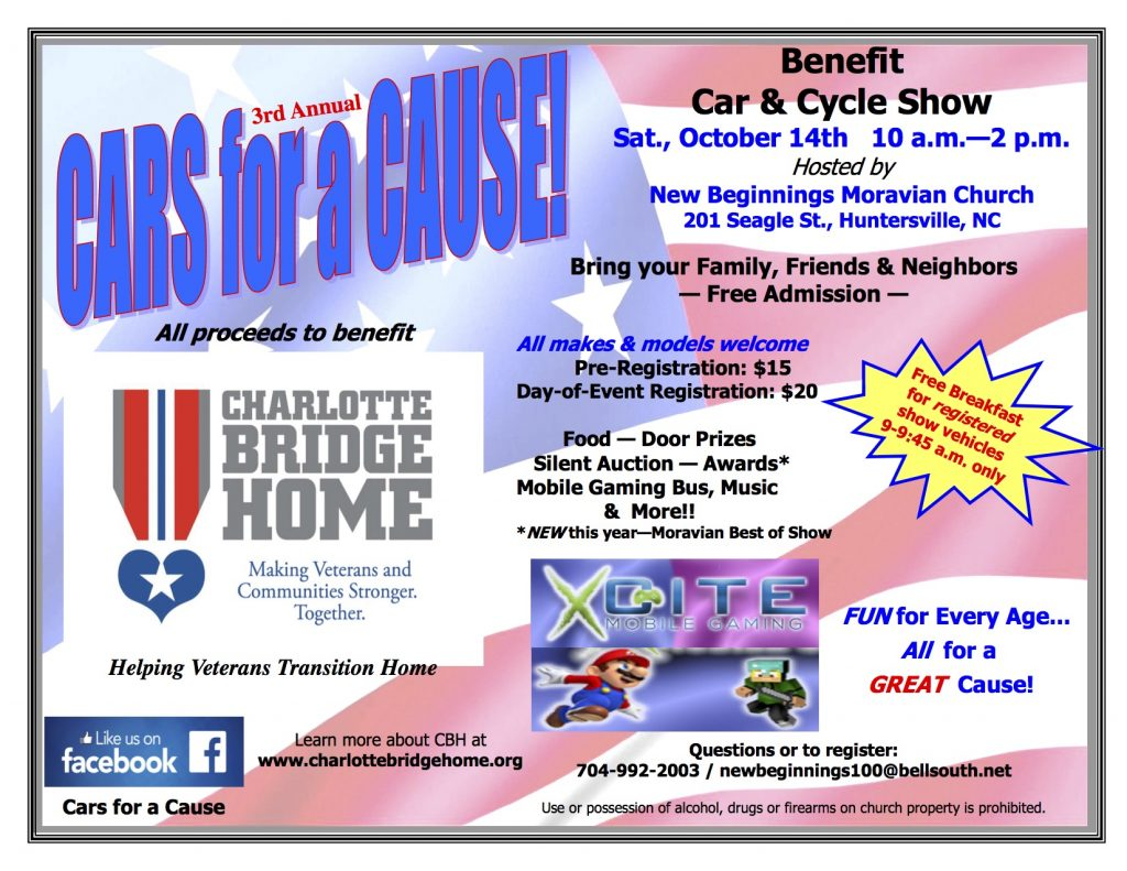 Cars for a Cause Benefit Car/Cycle Show - :