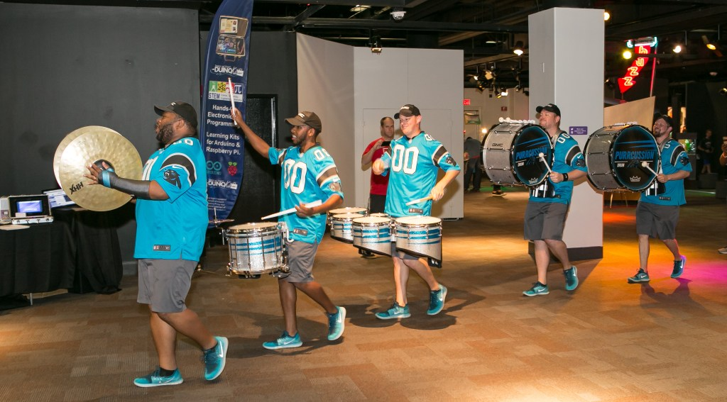 Carolina Panthers Drumline PurrCussion