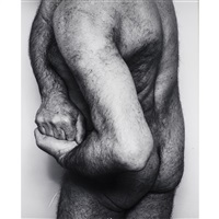 john-coplans-self-portrait-three-quarter-back-hands-claquepsed