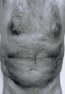 Self-Portrait (Torso, Front) 1984 by John Coplans 1920-2003