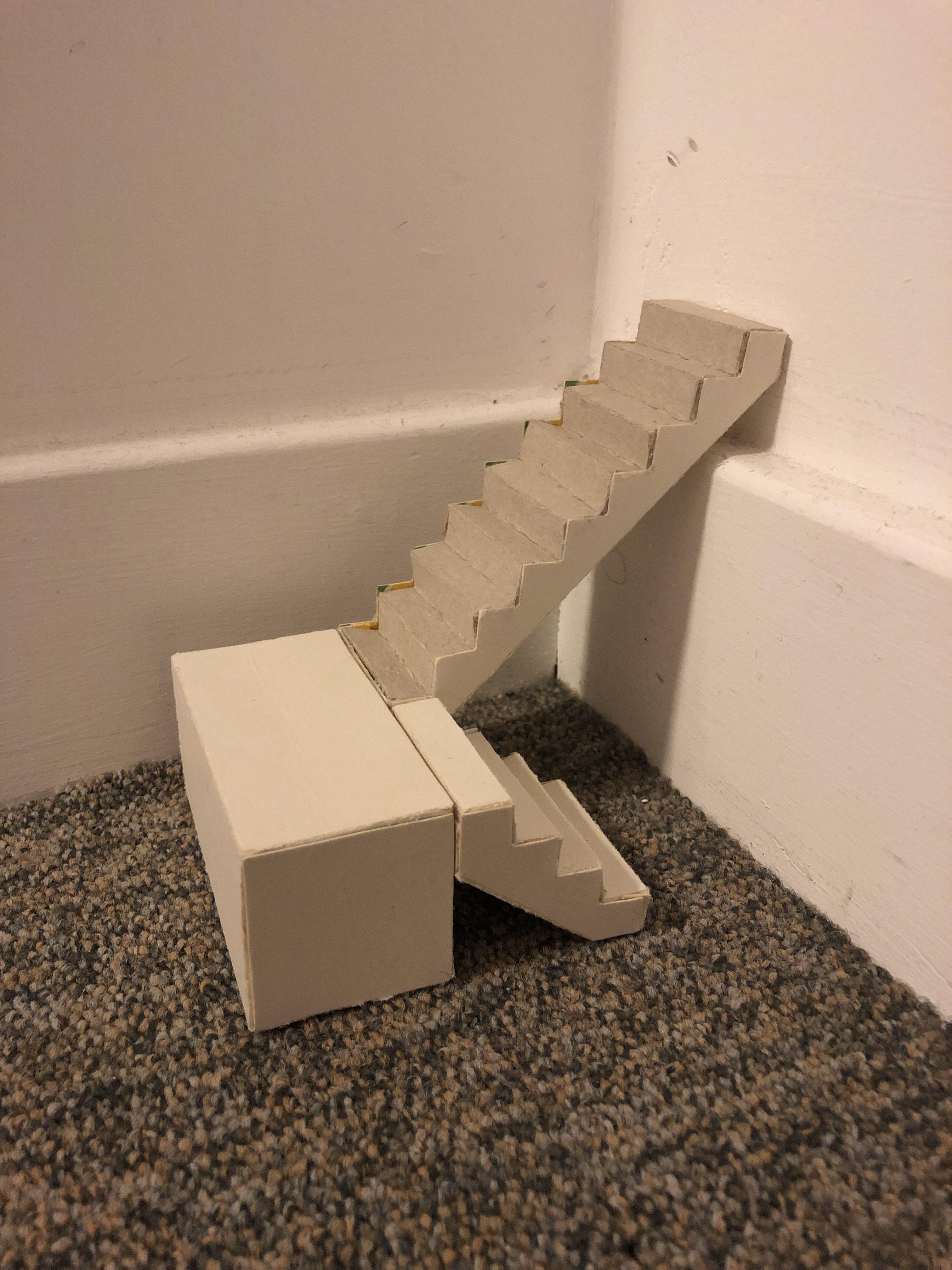 Week 3: Making Cardboard Stairs