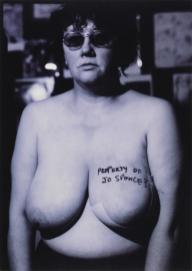 Crisis Project / Picture of Health? (Property of Jo Spence?) 1982 by Jo Spence 1934-1992