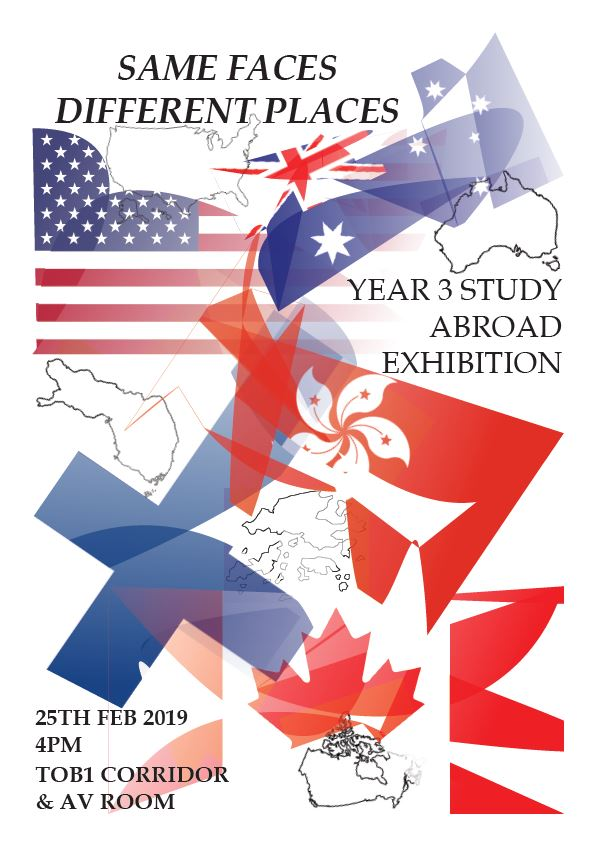 Study Abroad Exhibition Poster