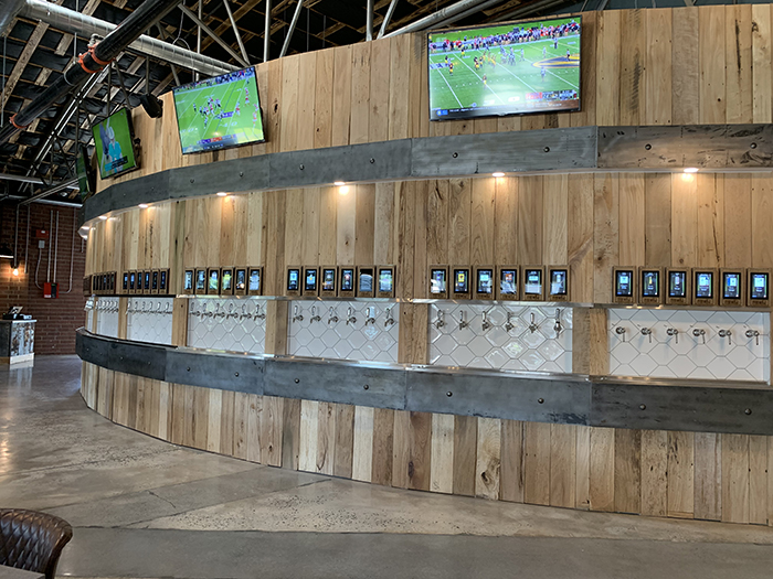 A 60 Tap Self Serve Beer And Wine Bar Called Free Will Craft Vine Is Now Open In Noda Charlotte Agenda