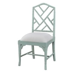Chippendale Dining Chair B And Q Covers Custom Chinese Faux Bamboo Side Paint