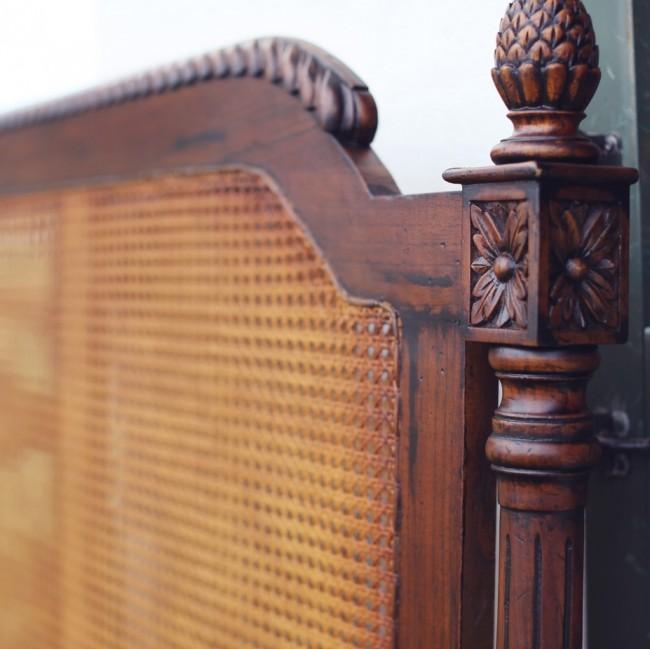 Amelie French Cane Bed Amp Headboard Custom
