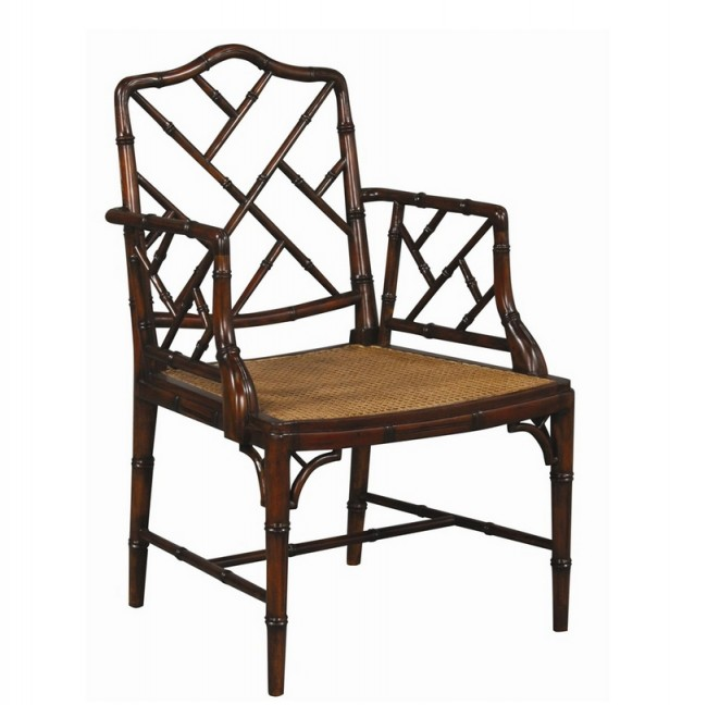 Chinese Chippendale Arm Chair