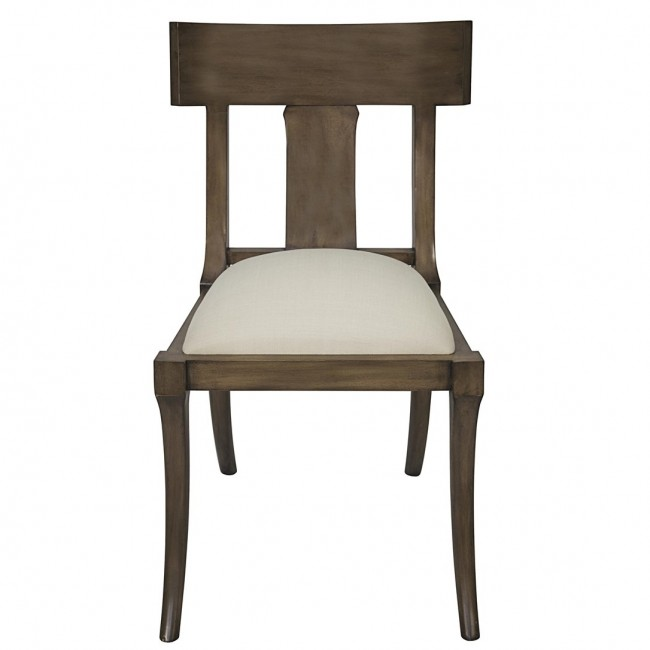 Klismos Chair Dining Chair Ebony Dusk Gray