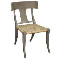 Klismos Chair Dining Chair (Dusk Gray)