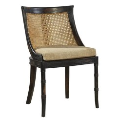 Bamboo Cane Back Chairs Waiting Area Samuel Caned Dining Chair