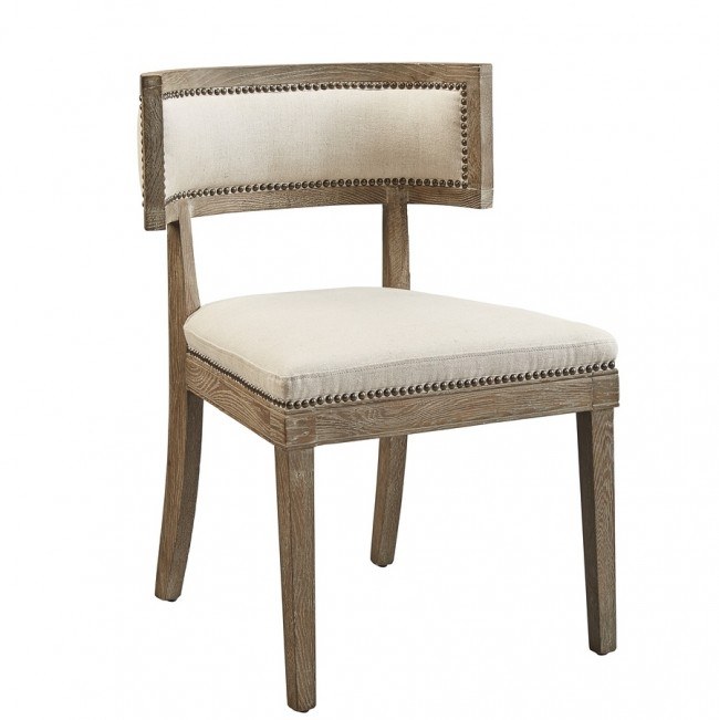 Klismos Chair Dining Chair Whitewash