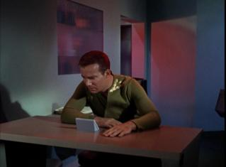 the-enemy-within Captain Kirk