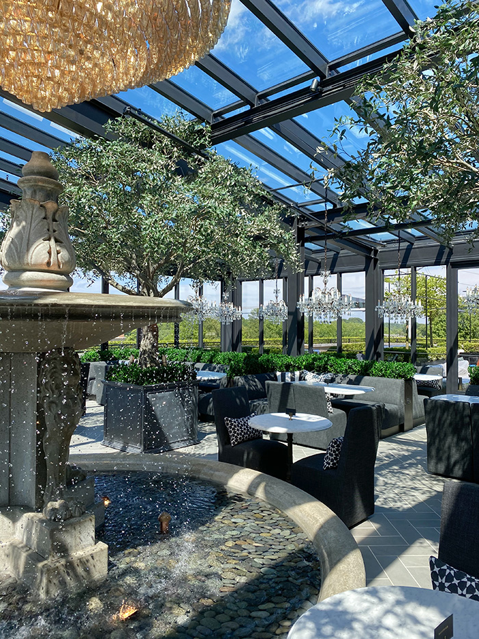 rh charlotte with rooftop restaurant
