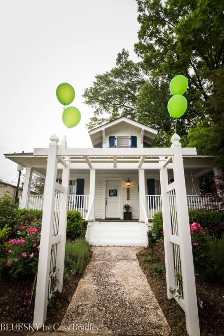 Bungalow 1325: A unique spot in Charlotte for brides to get ready on their wedding day