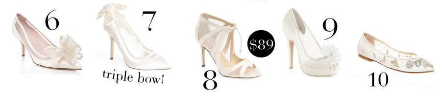 2016 Bridal Shoe Guide - Find the Perfect Shoe for Your Wedding