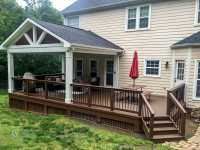 Covered Porch Photos - Charlotte Decks and Porches, LLC