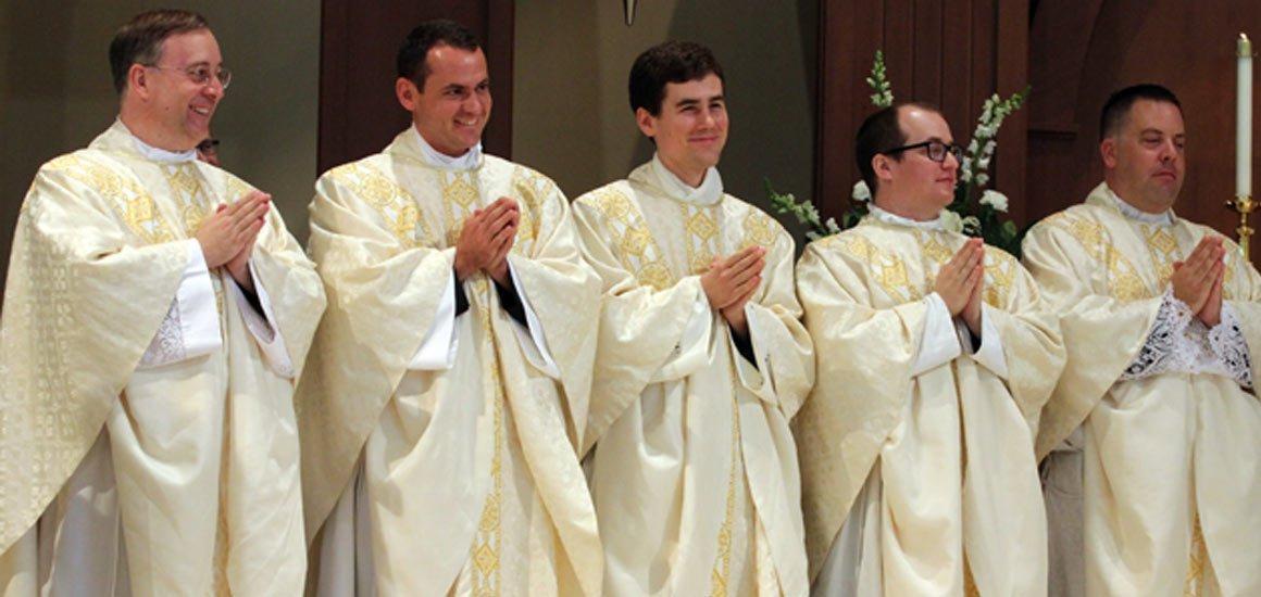Bishop Jugis Ordains Five New Priests!