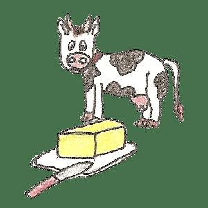 Beurre et vache