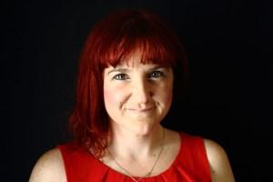 Charlotte Grimes voice over actor headshot photo