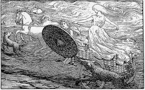 Sunna, Norse goddess of the sun
