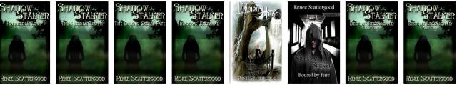 Shadow Stalker series by Renee Scattergood