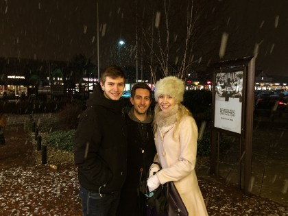 First-Snow-ith-My-Brothers