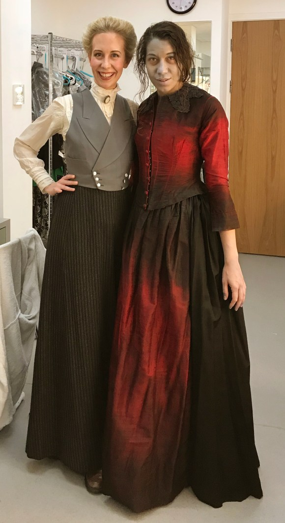 Marcella di Garbo and Charlotte Hoather