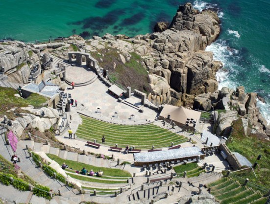 Minack Theatre During The Day
