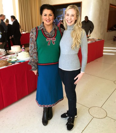 Anna Netrebko and Me During The Judging